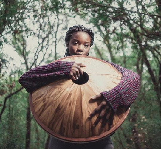Handpan Woodpan